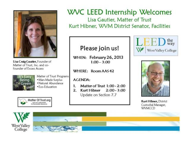 Lisa Gautier & Kurt Hibner (Guest Speakers) - 02.26.13